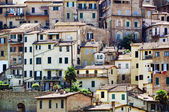 Old Houses of Siena, Italy — Stock Photo