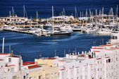 View of Denia Port — Stock Photo