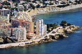 Aerial view of Calpe — Stock Photo