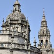 Stock Photo: Cathedral of Santiago de Compostela, Spain