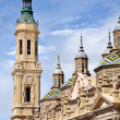 Cathedral The Pilar in Zaragoza, Spain — Stock Photo