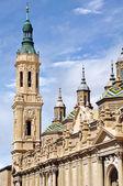 Cathedral The Pilar in Zaragoza, Spain — Stock Photo