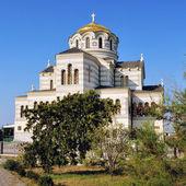 Kathedrale in der ukraine — Stockfoto