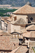 Old houses of Cuenca — Stock Photo
