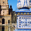 Stock Photo: Plazde Espanin Seville, Spain