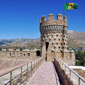 Manzanares el real castelo — Foto Stock