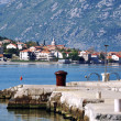 Boka Kotorska bay, Montenegro — Stock Photo