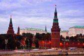 Arial view of Kremlin, Moscow — Stock Photo