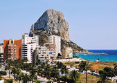 Summer resort Calpe, Costa Blanca, Spain — Stock Photo