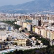 Aerial view of Malaga, Spain — Stock Photo