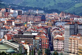 Aerial view of Bilbao — Stock Photo