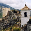 El Castell de Guadalest,Spain — Stock Photo