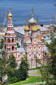 Russische kirche im sommer — Stockfoto