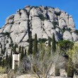 Mountain Montserrat, Spain — Stock Photo