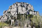 La montaña montserrat, españa — Foto de Stock