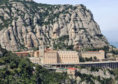 Monserrat Monastery, Spain — Stock Photo