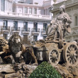 Cibeles Fountain in Madrid — Stockfoto