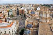 Aerial view of Valencia — Stock Photo