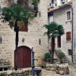 Streets of old medieval town Kotor, Montenegro — Stock Photo