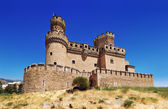 曼萨纳雷斯 el 真正城堡 — 图库照片