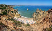 Camilo Beach in Algrave, Portugal — Stock Photo