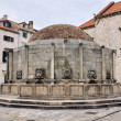 Onofrio's Fountain in Dubrovnik — Stock Photo