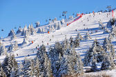 Inverno resort kopaonik, serbia — Foto Stock