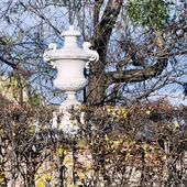 Park av belvedere palace, wien, österrike — Stockfoto