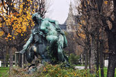 Sculpture in the park of Vienna, Austria — Foto de Stock