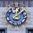 Stock Photo: Clock of Old Town Hall, Munich