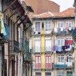 Colorful old houses of Porto — Stock Photo