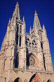 Cathedral of Burgos, Spain — Stock Photo