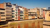 Old houses of Girona, Spain — Stock Photo
