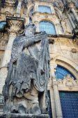 Santiago de Compostela Cathedral, Galicia — Stock Photo