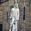 Stock Photo: Statue of Neptune in Florence