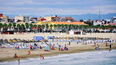 Valencia beach — Stock Photo