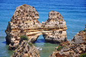 Rocks in Algrave, Portugal — Stock Photo