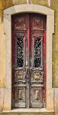 Old vintage wooden door — Stock Photo