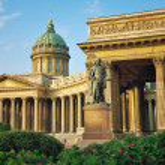 View of Kazan Cathedral, Saint Petersburg — Stock Photo #43891943