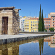 Ancient Egyptian Temple of Debod in Madrid, Spain — Stock Photo #48761969