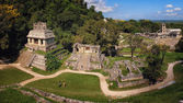 Mayan ruins in Palenque, Chiapas, Mexico — Stock Photo