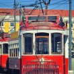 Tram in Lisbon, Portugal — Stock Photo #49135013