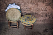Interior of a typical berber house — Foto Stock