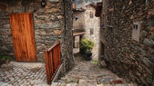 Small town in Catalonia — Stock Photo