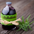 Natural rosemary and wine hair toner diy — Foto de Stock