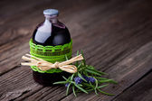 Natural rosemary and wine hair toner diy — Stock Photo