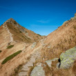 Beautiful Tatry mountains landscape Czerwone Wierchy — Stock Photo
