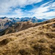 Beautiful Tatry mountains landscape Czerwone Wierchy — Stockfoto