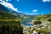 Beautiful Tatry mountains landscape Five Lakes Valley — Stock Photo