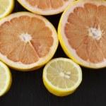 Fresh citrus fruits — Stock Photo #9350925
